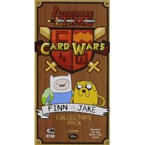 Adventure Time Juego Card Wars Finn Vs Jake Hora Aventura