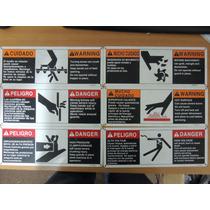 Letrero De Seguridad Informacion Precaución Maquinas Cuidado
