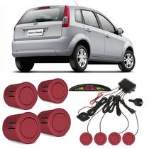 Sensor De Estacionamento Fiesta Rocam Vermelho Arpoador