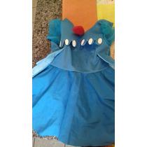 Vestido Para Festa Galinha Pintadinha Para Até 5 Anos