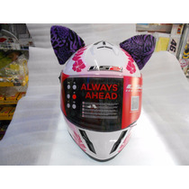 Orejas De Gato Decorativas Para Casco De Motocicleta