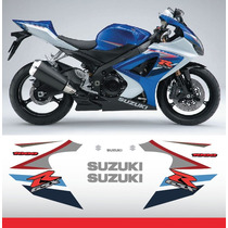 Calcomanias Stickers Suzuki Gsxr 1000 2007