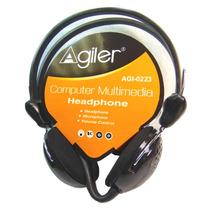 Audifono Con Microfono Para Computadora Agi-0223