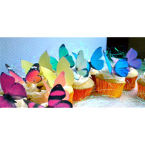12 Hermosas Mariposas Comestibles Para Bodas Pastel