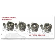 Jg Pistao Motor 1,00 Volks Gol 1.6 8v Apos 87 Motor Ap Gasol