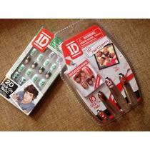 One Direction 2 Paquetes De Uñas Postizas, Artículo Ofic.mn4