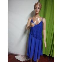 Vestidos Encaje Y Gasa Cocktail, Fiesta T M A Xxl $ 800