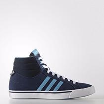 Zapatillas Botitas Adidas Neo Park St Mid W Azul C/celeste