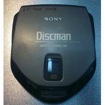 Discman Sony D-173 Para Retirada De Peça