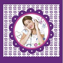 Kit Imprimible Violetta, Invitaciones, Banderines, Deco