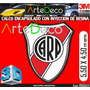 Domes Etiquetas Resinadas Calcos Relieve Cuerpo River Plate