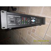 Potencia Mea Pa 1600 (n.machine\studio R\hot Sound\staner)