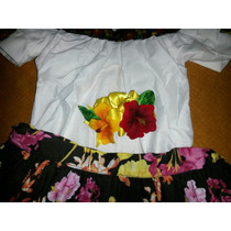Vestido Traje Típico Tabasqueña Niña Tabasco Babystore 7años