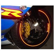 Friso Adesivo Refletivo Curvo Roda Moto Carro + Brindes 5mm