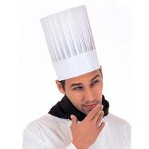 Gorros Descartables Chef Cocinero (precio Por 20 Unidades)
