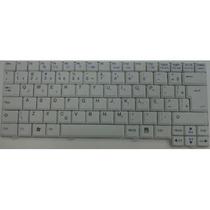 Teclado Original Netbook Lg X110 - Branco Br Ç - V070722ak1
