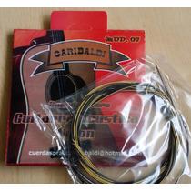 Cuerdas Para Guitarra Acústica Garibaldi 07 Nylon Nuevas