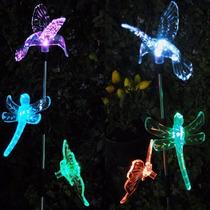 Luminárias Solar Led Decorativa Para Jardim 3 Bichos