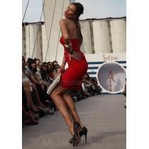 Vestido Fiesta Civil Coctel Las Oreiro V.colores 50% Off