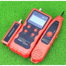 Tester Pollo Cable Multifuncion Utp Rj45 Rj11 Bnc Usb Nf-838