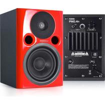 Monitores De Estudio Fostex Pm04 Bi Amplificados Max Calidad