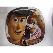 12 Globos Metalico 9 Pulg. Toy Story Woody Centro Mesa