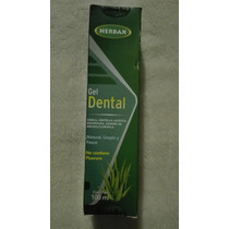 Gel Dental Sin Fluoruro Herbax