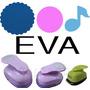 Furador Eva Círculo Esc 5cm + Liso 3,2cm+ Nota Musical 2,5cm