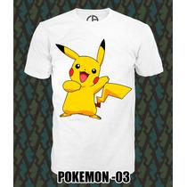 Playeras Pokemon Ropa Hombre Y Mujer Oferta 3x2¡¡ Moda¡¡