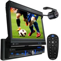 Dvd Positron Retrátil 7 Polegadas Touch Screen + Tv Digital