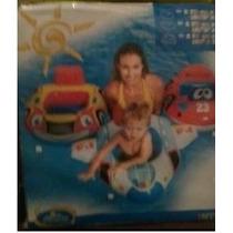 Boia Bote Inflável Formato Carro Criança De 1 À 2 Anos 11kg