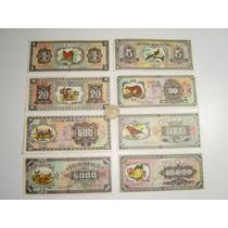 Antiguos Billetes 8 Banco De La Ilusión Fotorama 1962