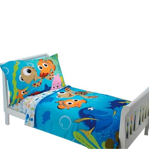 Set De Nemo, Edredón Sabanas Funda Niños Cama Hm4   $ 1,599.00 en