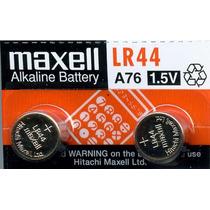 Pila Lr44 A76 1.5v Pilas Maxwell Nuevas (10,40xmayor)