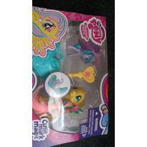 My Little Pony Set Fluttershy And Sea Breeze! Envio Gratis