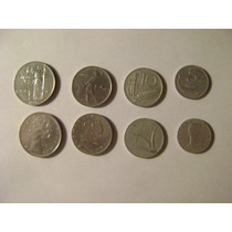 Lote De 31 Monedas Italianas (1952/1969)