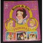 Álbum Princesas - Branca De Neve, A Bela Adormecida