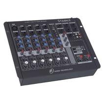 Mesa De Som Mixer Starmix Fx Efeito Usfx602 Usb 12 X