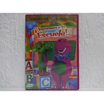 Dvd Barney ¡juguemos A La Escuela! Envío Gratis
