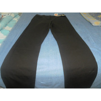 Pantalon De Color Chocolate Talla (10) Stretch