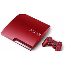 Ps3 Sony Roja 320gb Slim God Of War + Joystick Sin Caja