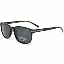 Óculos De Sol Polaroid Preto 2020 D28/y2 L.cinza Polarizado