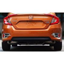 Moldura Cromada Refletor Traseiro Honda Civic 2017 612211