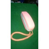 Aparelho De Telefone Antigo Rosa Funcionando