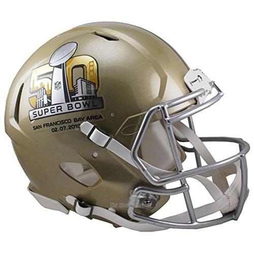Super Bowl 50 Tamaño Completo Casco Nfl Auténtico -   8 93c1449068f