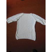 Sweater De Hilo Manga 3/4 - Talle 12