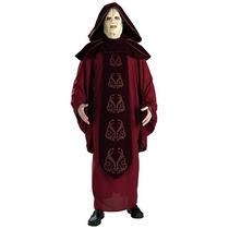 Disfraz De Lujo De Emperador Palpatine Star Wars P/ Adultos