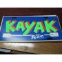 Kayak - Placa Matricula De Acrilico 30 X 15 Cm