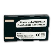 Bateria Camara Samsung Sb-lsm80 Scd363 Sc-d363 Scd353 Sc-d35