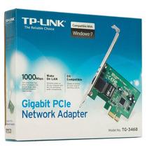 Placa Rede Pci-e Tp-link Tg-3468 10/100/1000mbps Gigabit
